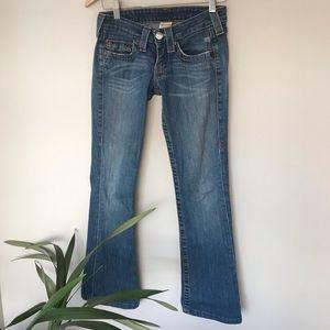 EUC TRUE RELIGION Bobby Jeans